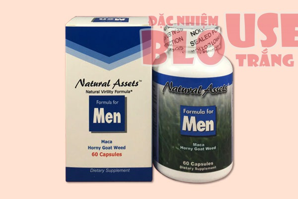 Thuốc cường dương Formula For Men của Mỹ