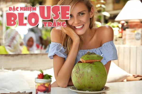 Nước dừa là thức uống, là bài thuốc giúp cơ thể suy nhược hồi phục nhanh hơn