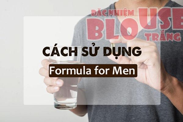 Hướng dẫn cách sử dụng Formula for Men