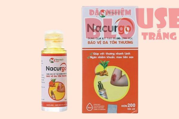 Bộ đôi Nacurgo màng sinh học và Nacurgo Gel