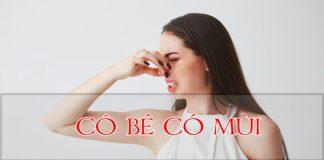 Vùng kín có mùi gây mất tự tin, ảnh hưởng sức khỏe hạnh phúc