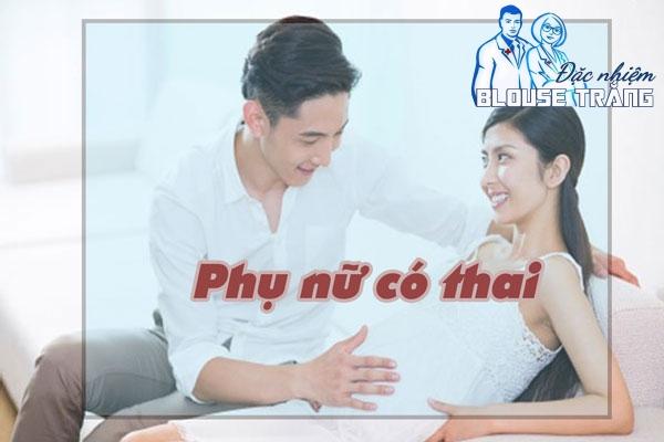 Ra huyết trắng xảy ra ở giai đoạn đầu của phụ nữ mang thai