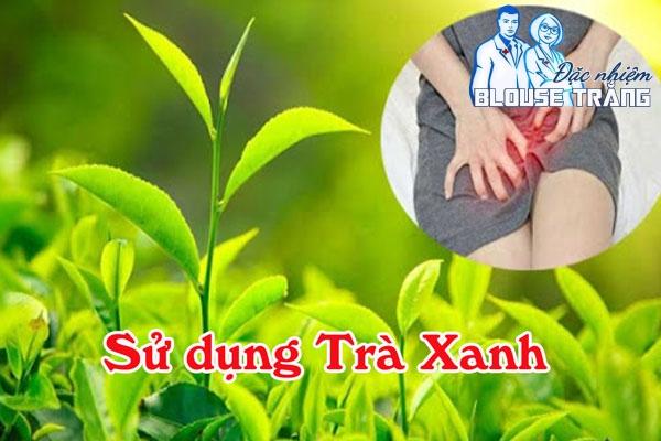 Trà xanh- giải pháp hữu hiệu đánh bay mùi hôi vùng nhạy cảm