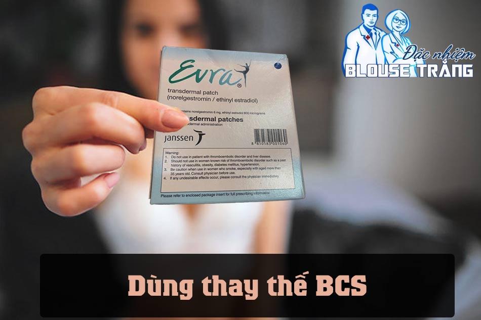 Dung miếng dán tránh thai Erva có hiệu quả hơn bcs