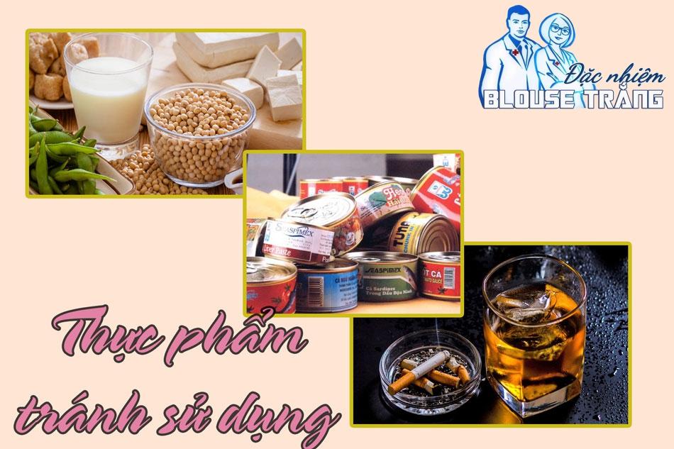 Những thực phẩm cần tránh và không sử dụng để đảm bảo chất lượng tinh trùng