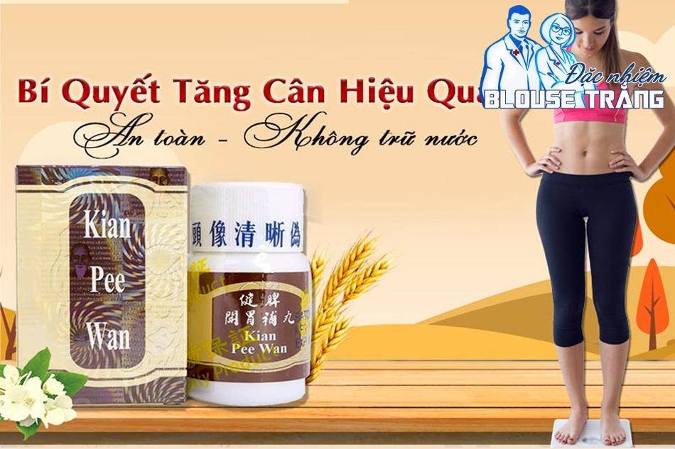 Kian Pee Wan là một sản phẩm hỗ trợ tăng cân được nhập từ Malaysia