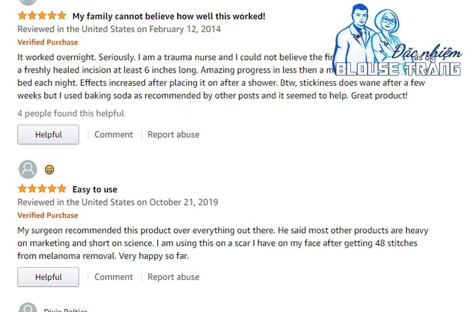 Review từ người dùng về Scar FX Silicone
