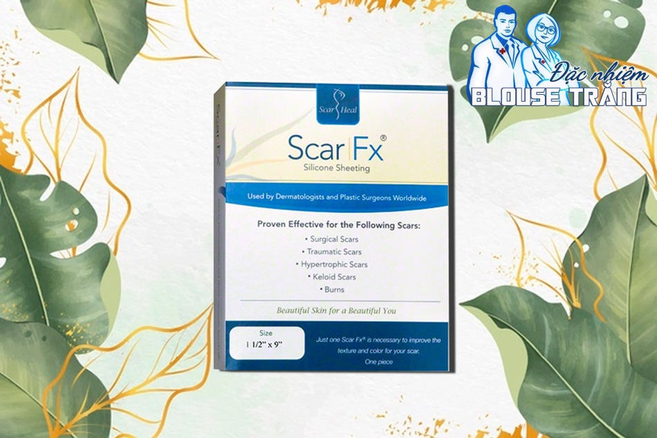 Miếng dán trị sẹo Scar fx được tập đoàn ATLANTIC MEDICAL PRODUCTS, LLC dba SCAR HEAL
