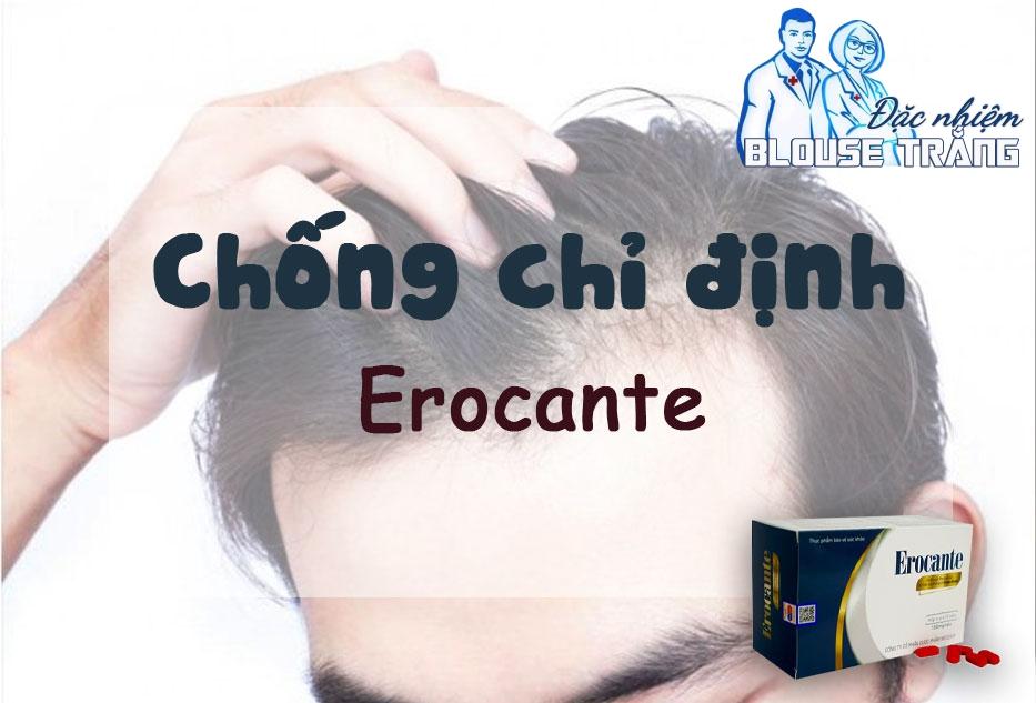 Đối tượng không nên sử dụng sản phẩm Erocante