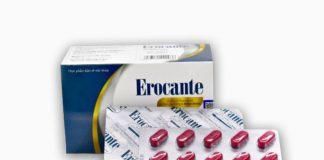 Viên uống mọc tóc Erocante: Cách sử dụng hiệu quả, thành phần, giá bán