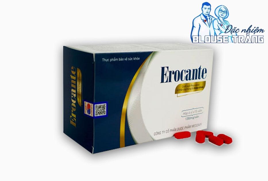 Cách phân biệt Erocante chính hãng và hàng giả