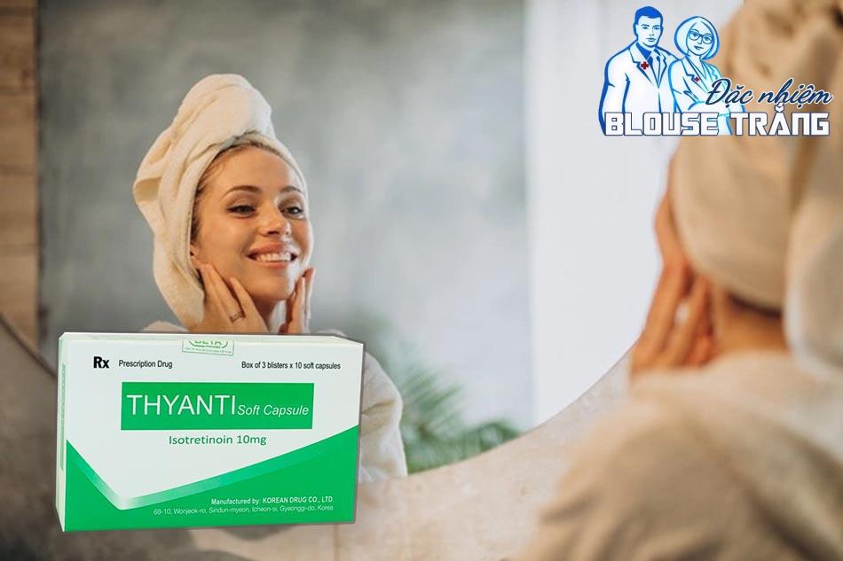 Thyanti Soft Capsule 10mg là thuốc da liễu đến từ Hàn Quốc