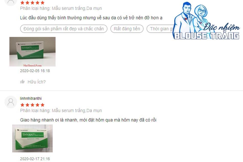 Những phản hồi tích cực từ người dùng