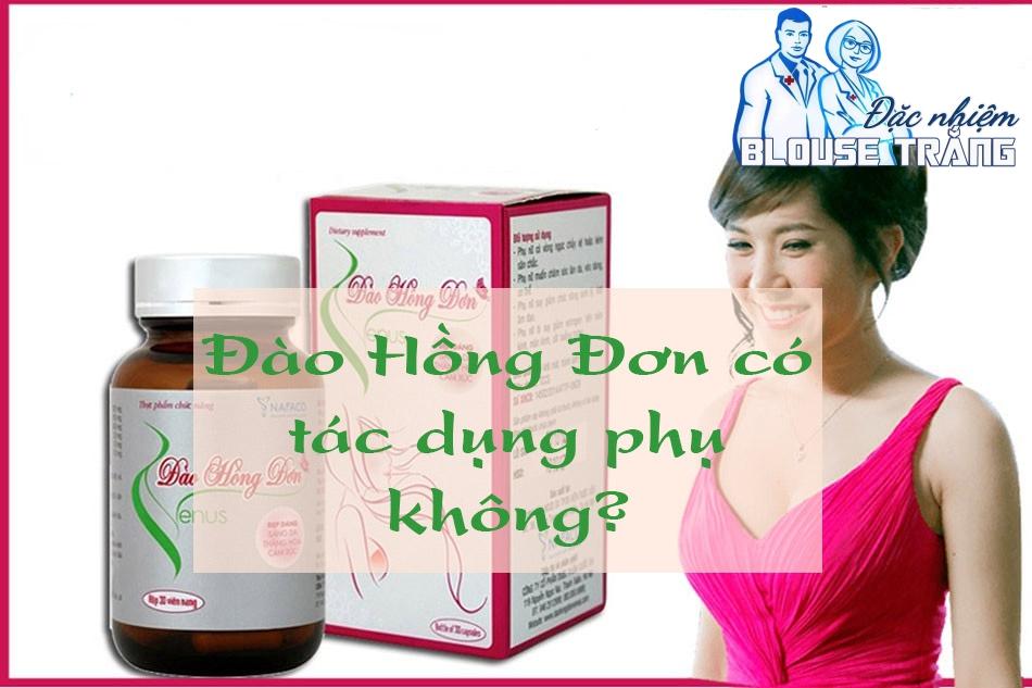 Tác dụng phụ Đào Hồng Đơn