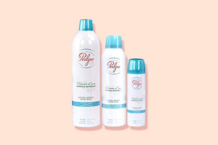 Xịt khoáng Perlyne đến từ hãng mỹ phẩm Elysée của Pháp với các thành phần chiết xuất từ thiên nhiên giúp cấp ẩm tức thì cho da.